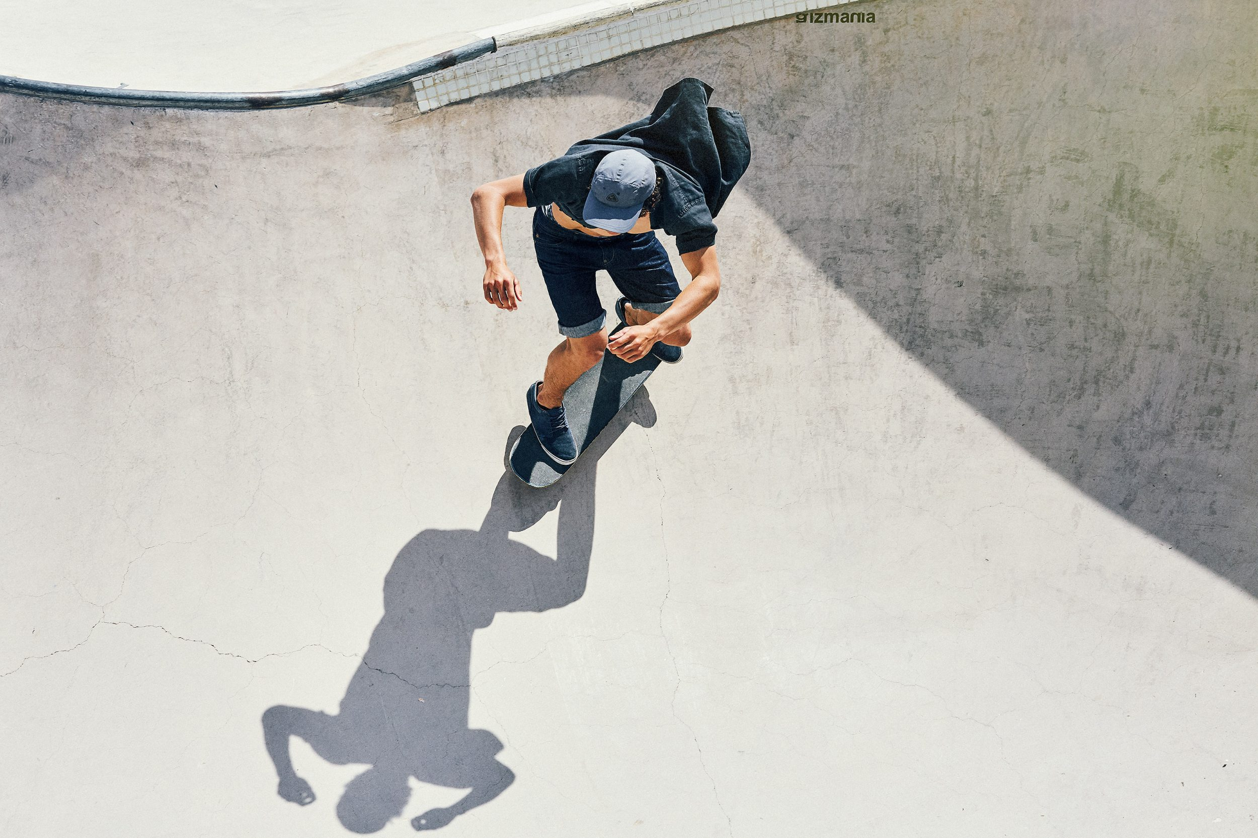 Skateboarding Barcelona