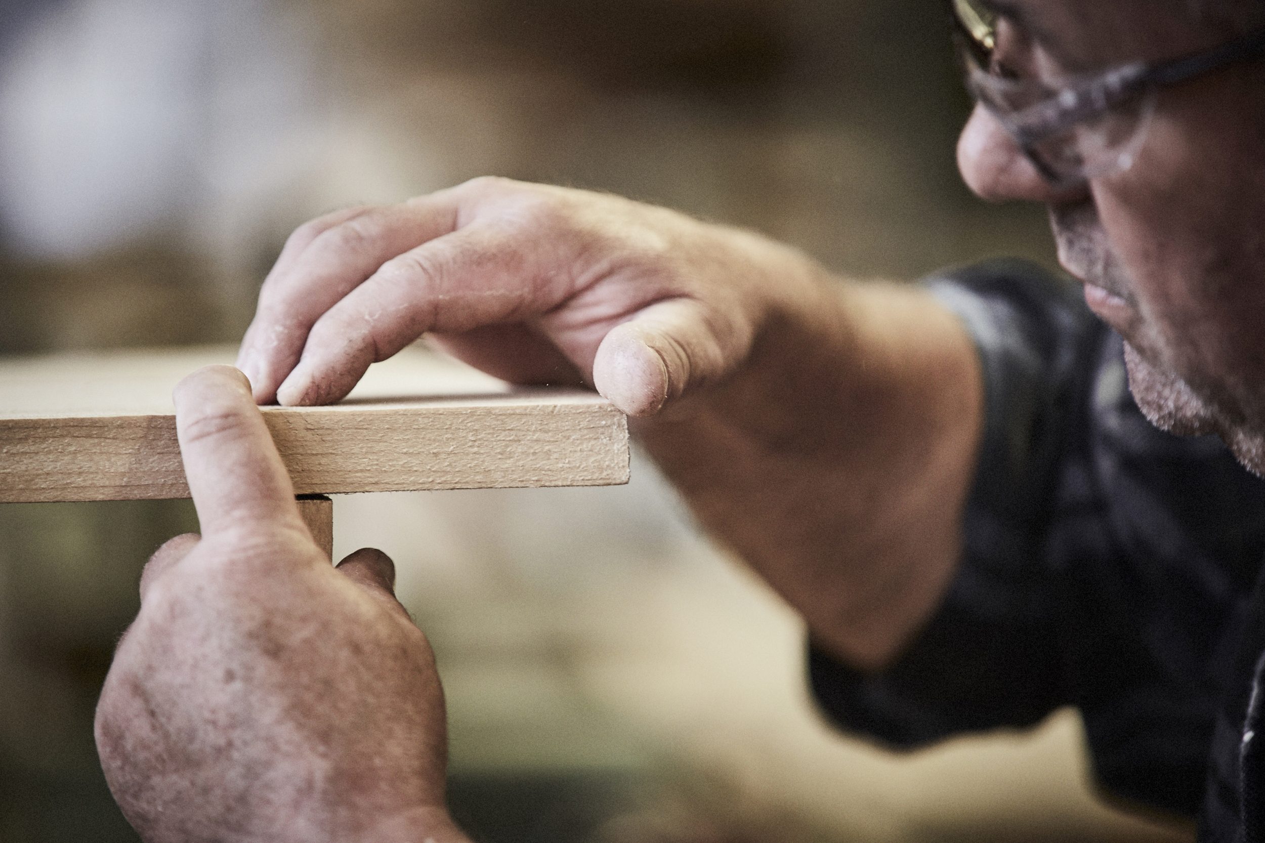 furniture made by hand